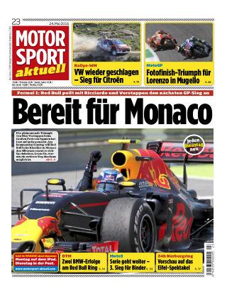 MOTORSPORT aktuell  23/2016