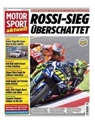 MOTORSPORT aktuell  25/2016