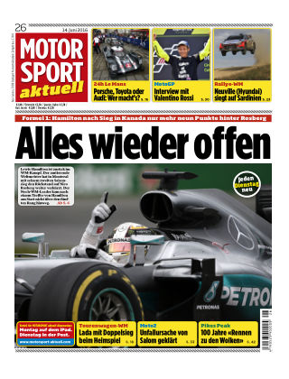 MOTORSPORT aktuell 26/2016
