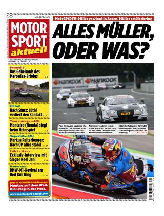 MOTORSPORT aktuell  28/2016