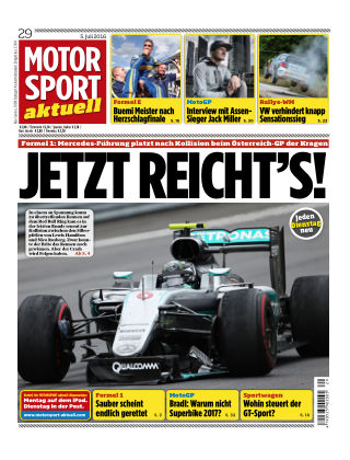MOTORSPORT aktuell 29/2016
