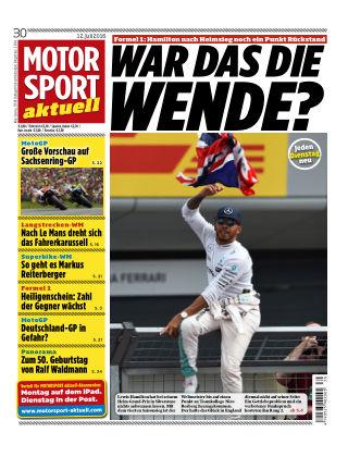 MOTORSPORT aktuell 30/2016