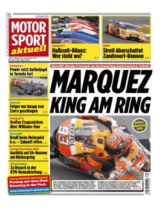 MOTORSPORT aktuell  31/2016