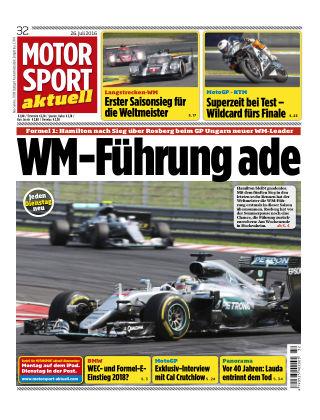 MOTORSPORT aktuell  32/2016