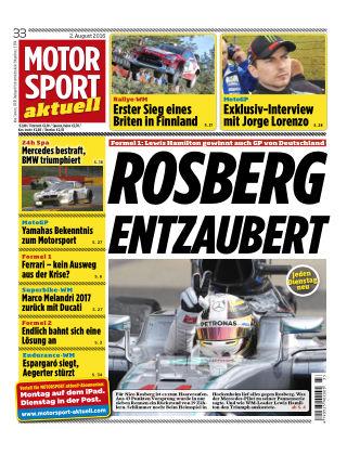 MOTORSPORT aktuell 33/2016