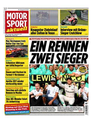 MOTORSPORT aktuell  37/2016