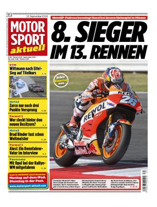 MOTORSPORT aktuell  39/2016