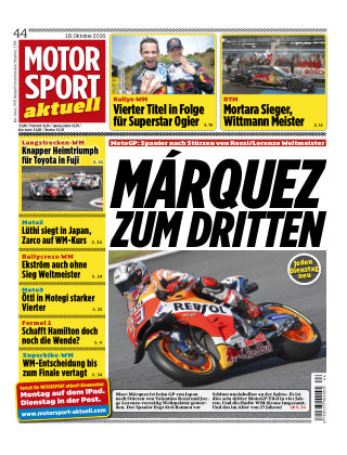 MOTORSPORT aktuell 44/2016