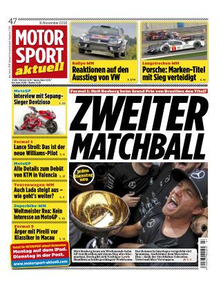 MOTORSPORT aktuell 47/2016