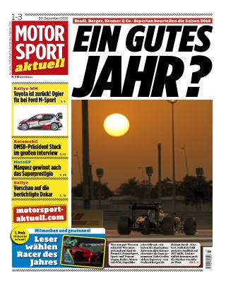 MOTORSPORT aktuell  01-03/2017
