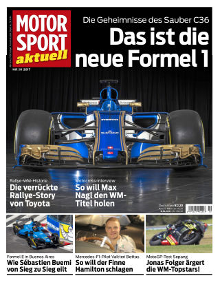 MOTORSPORT aktuell  10/2017