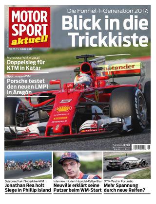 MOTORSPORT aktuell 11/2017