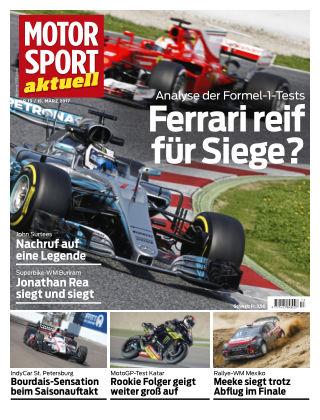 MOTORSPORT aktuell 13/2017