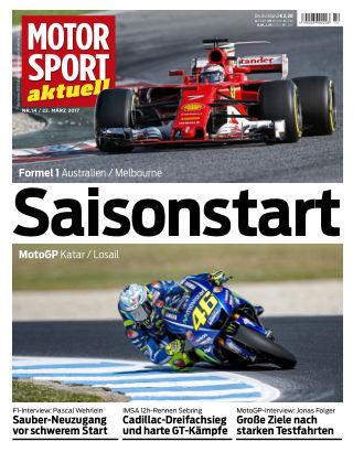 MOTORSPORT aktuell 14/2017