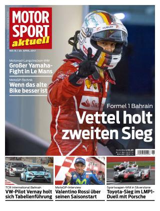 MOTORSPORT aktuell  18/2017