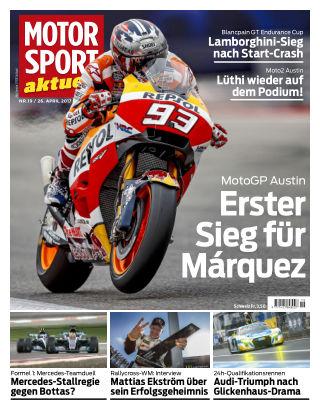 MOTORSPORT aktuell  19/2017