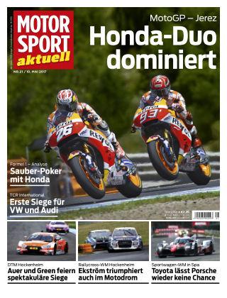 MOTORSPORT aktuell  21/2017