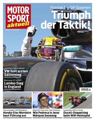 MOTORSPORT aktuell  22/2017