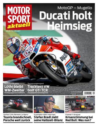 MOTORSPORT aktuell  25/2017