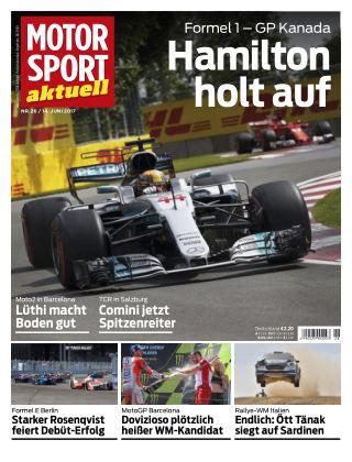 MOTORSPORT aktuell 26/2017