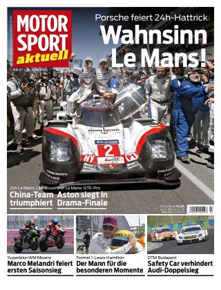 MOTORSPORT aktuell  27/2017