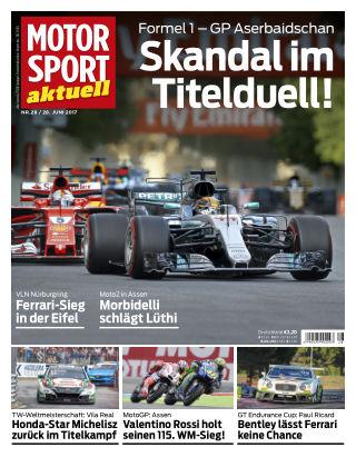 MOTORSPORT aktuell 28/2017