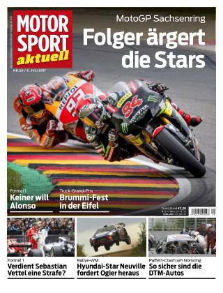 MOTORSPORT aktuell  29/2017