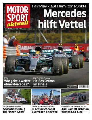 MOTORSPORT aktuell  33/2017