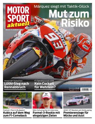 MOTORSPORT aktuell  34/2017