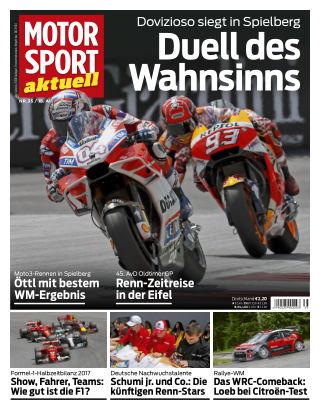 MOTORSPORT aktuell  35/2017