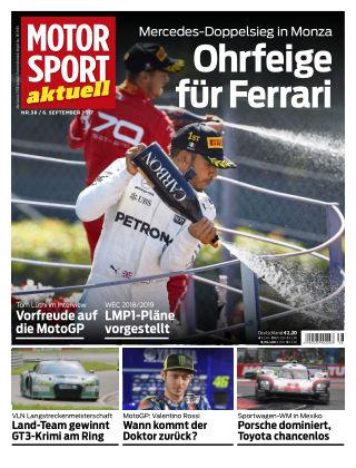 MOTORSPORT aktuell 38/2017