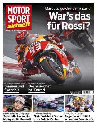 MOTORSPORT aktuell 39/2017