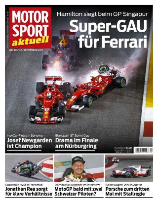 MOTORSPORT aktuell  40/2017
