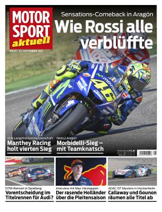 MOTORSPORT aktuell  41/2017