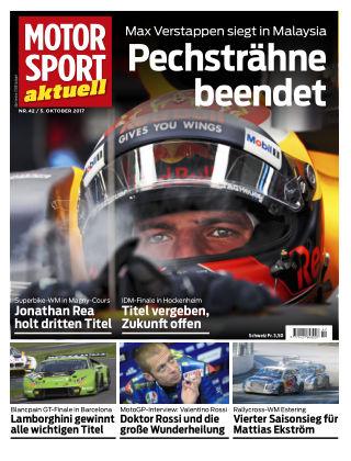 MOTORSPORT aktuell 42/2017