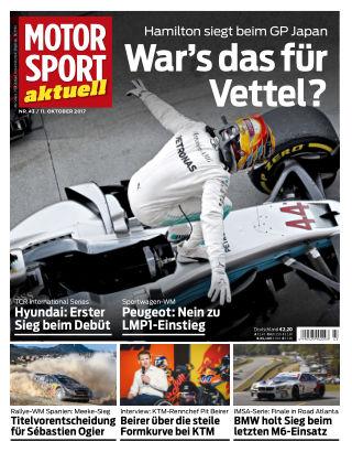 MOTORSPORT aktuell 43/2017