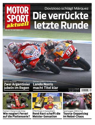 MOTORSPORT aktuell  44/2017