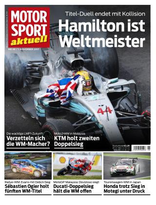 MOTORSPORT aktuell 46/2017