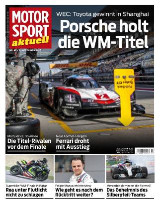 MOTORSPORT aktuell  47/2017