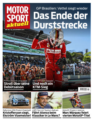 MOTORSPORT aktuell 48/2017