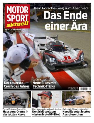 MOTORSPORT aktuell  49/2017