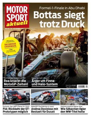 MOTORSPORT aktuell 50/2017