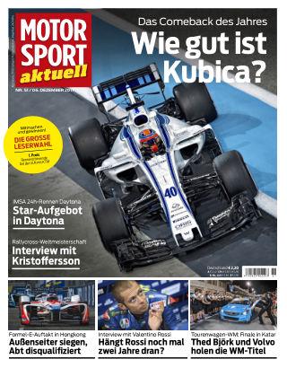 MOTORSPORT aktuell 51/2017