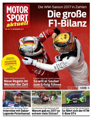 MOTORSPORT aktuell  52/2017