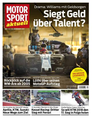 MOTORSPORT aktuell 01-03/2018
