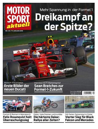 MOTORSPORT aktuell  05/2018
