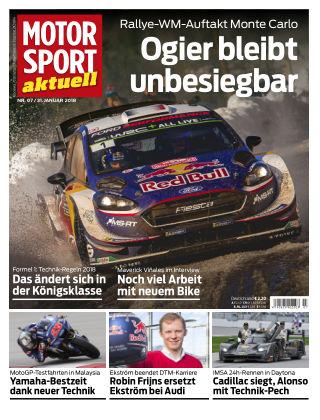 MOTORSPORT aktuell  07/2018