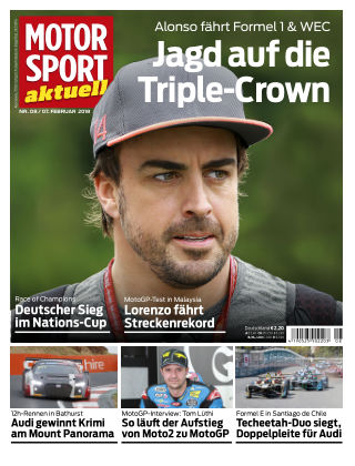 MOTORSPORT aktuell  08/2018