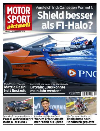 MOTORSPORT aktuell  09/2018
