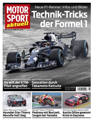 MOTORSPORT aktuell  10/2018